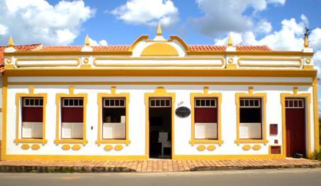 Arquivo Público Municipal de Paracatu, na Rua Temístocles Rocha, nº 249 no Núcleo Histórico. Foto: Arquivista Carlos Lima/ 2008